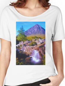 Tranquil valley Women's Relaxed Fit T-Shirt