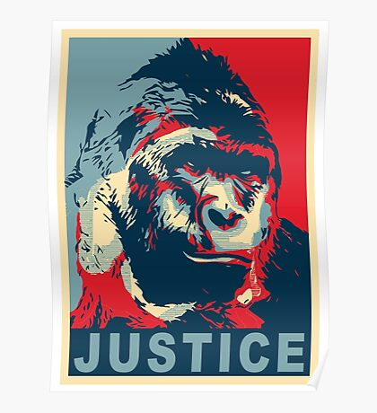 justice for harambe Poster