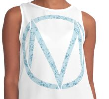 American Candy Flowers Contrast Tank