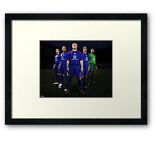 The Old United Framed Print