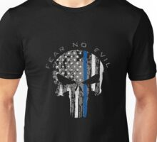 Thin Blue Line Shirt Support Police Unisex T-Shirt