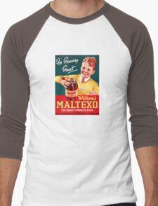 New Zealand Vintage Advertising Poster Men's Baseball ¾ T-Shirt