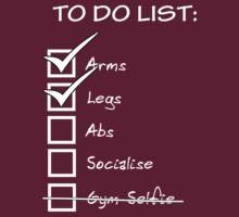 Gym To Do List - White by nosnia