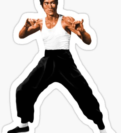 CREATING !! BRUCE LEE Sticker