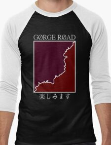 gorge road retro Men's Baseball ¾ T-Shirt