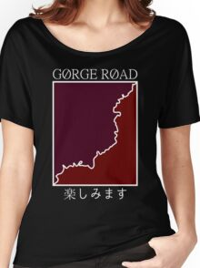 gorge road retro Women's Relaxed Fit T-Shirt