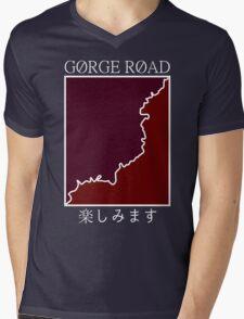 gorge road retro Mens V-Neck T-Shirt