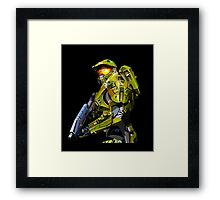 Master chief from Halo Framed Print