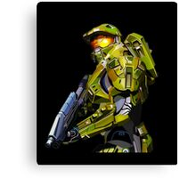 Master chief from Halo Canvas Print