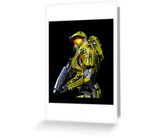 Master chief from Halo Greeting Card