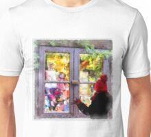 Christmas Shop Window Unisex T-Shirt