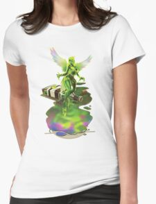 Absynthe - 'The Green Fairy' Womens Fitted T-Shirt