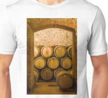 Oak Wine Barrels, Chianti, Italy Unisex T-Shirt