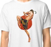 Muay Thai Artwork Classic T-Shirt