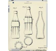 Coca Cola Bottle-1937 iPad Case/Skin