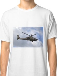 British Army Air Corps Apache AH1 Helicopter Classic T-Shirt