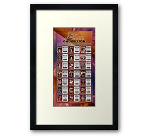 One Billionth Gamer (by Walter Day) Framed Print