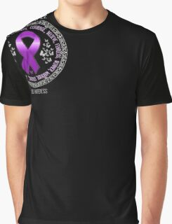Wear Purple For Lupus Awareness Ribbon T-Shirt Support Tee Graphic T-Shirt