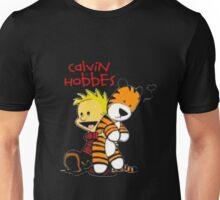 KNOT Artist Calvin And Doll Hobbes Kids Toddler T-Shirt Unisex T-Shirt