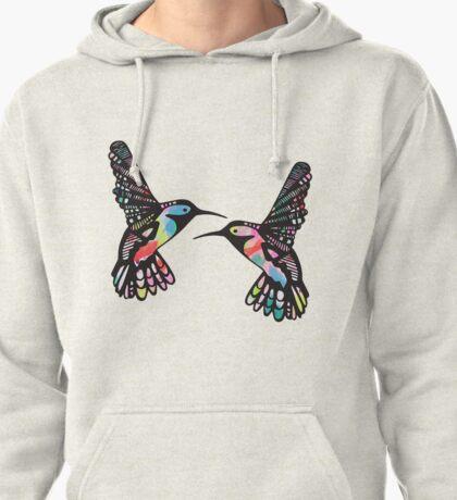 Tropical Hummingbirds Pullover Hoodie