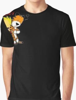 KNOT Artist Calvin And Doll Hobbes Kids Toddler T-Shirt Graphic T-Shirt