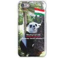 Ihr spezielles Panda Souvenir direkt aus Budapest, Ungarn! iPhone Case/Skin