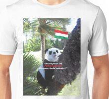 Ihr spezielles Panda Souvenir direkt aus Budapest, Ungarn! Unisex T-Shirt
