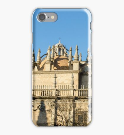 Seville - The gothic cathedral and the Giralda iPhone Case/Skin
