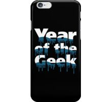 Year of the Geek (White) iPhone Case/Skin