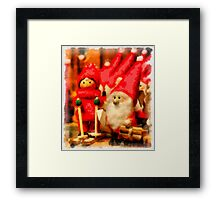 Christmas Toys Framed Print