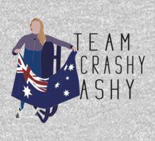 Team Crashy Ashy - Personalised  One Piece - Long Sleeve