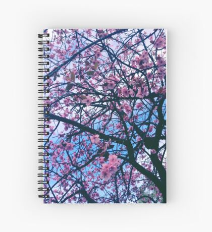 Underneath the Sakura Tree Spiral Notebook