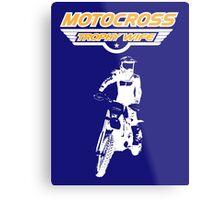 Motocross Trophy Wife - Girl Rider Metal Print