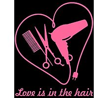 Love is in the hair Photographic Print