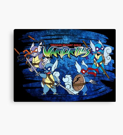 Teenage Mutant Ninja Wartortles Canvas Print