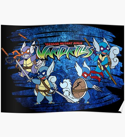 Teenage Mutant Ninja Wartortles Poster