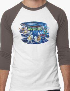 Teenage Mutant Ninja Wartortles Men's Baseball ¾ T-Shirt