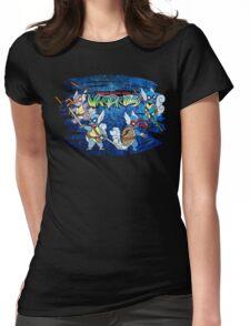 Teenage Mutant Ninja Wartortles Womens Fitted T-Shirt