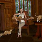 A Song For Her Cats by Mythos57