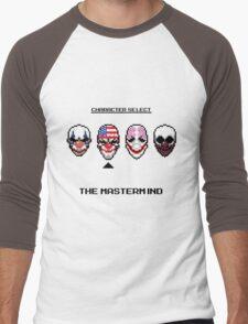 Masking up - The Mastermind Men's Baseball ¾ T-Shirt