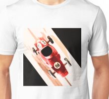 Toy Car on Wooden Track  Unisex T-Shirt