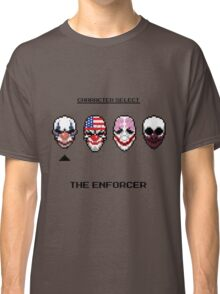 Masking up - The Enforcer Classic T-Shirt