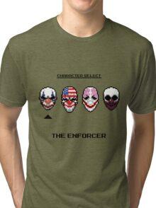 Masking up - The Enforcer Tri-blend T-Shirt