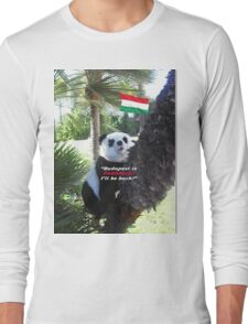 Special PANDA Souvenir directly from Budapest, Hungary Long Sleeve T-Shirt