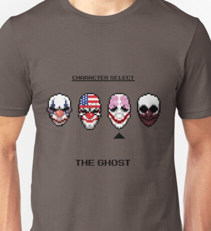 Masking up - The Ghost Unisex T-Shirt