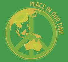 Peace In Our Time One Piece - Short Sleeve
