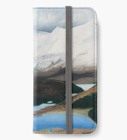 Torridon - after the snowstorm iPhone Wallet/Case/Skin