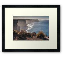 Bunda Cliffs Framed Print