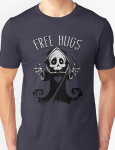 Cute Grim Reaper Free Hugs Unisex T-Shirt