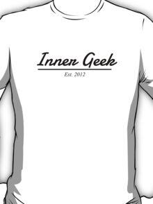 Inner Geek Est. 2012 (Black) T-Shirt